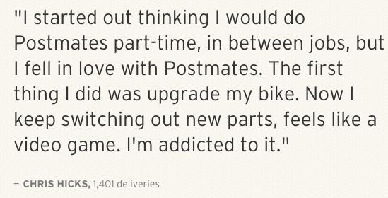 PostMates quote