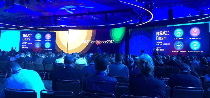 RSA conference stage
