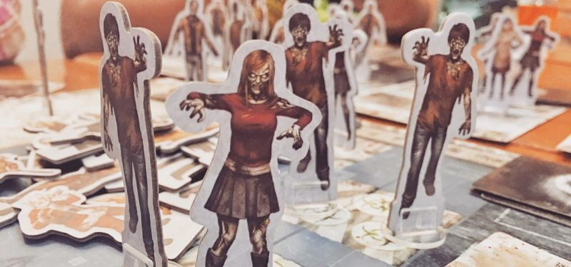 Zombie board game