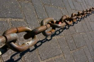 links of chain