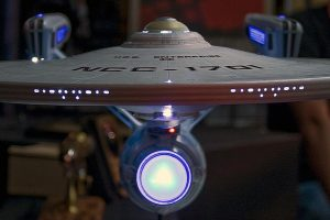 Model of the Starship Enterprise