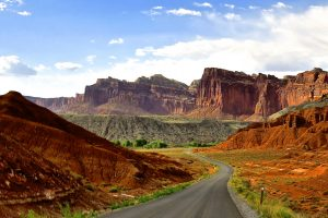 Canyon roads