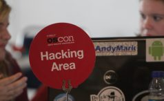 Hacking area at OSCON