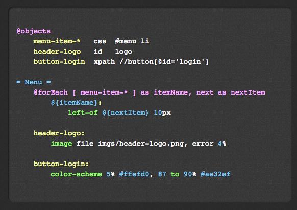 Galen Test Framework