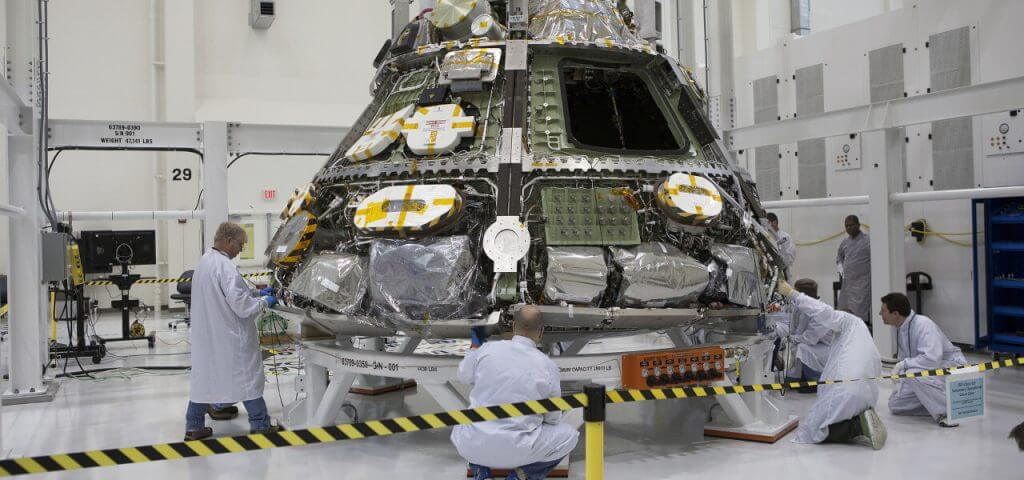 Intelligent test automation gives Orion spacecraft a boost